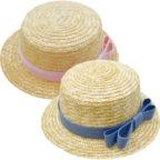 麦わら帽子子供用(全2色)