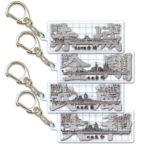 プレートキーホルダー大日本帝国海軍(全2種)