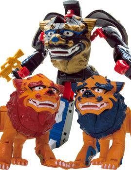 《沖縄限定》超進化変形アニバトロン神獣シーサーロボ(全3種)