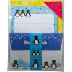 ミニレターセット:ペンギン