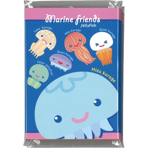 マリンフレンズパタパタメモ:Jellyfish