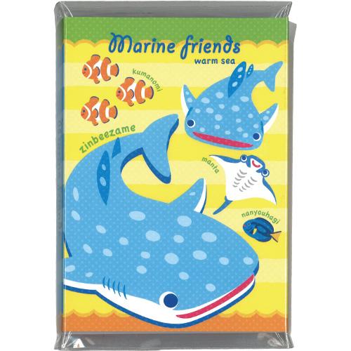 マリンフレンズパタパタメモ:warm sea