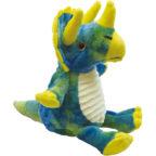 おすわりクタっとぬいぐるみ:トリケラトプス
