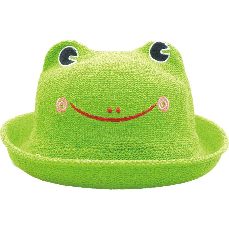 カエル帽子