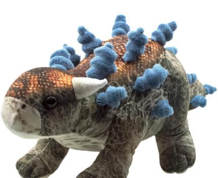ダイナソーフレンズ リアルプリントぬいぐるみ:アンキロサウルス