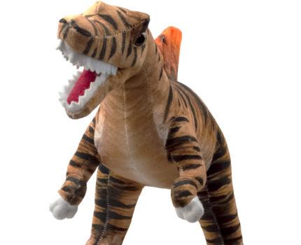 ダイナソーフレンズ リアルプリントぬいぐるみ:スピノサウルス