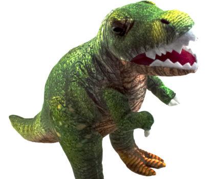 ダイナソーフレンズ リアルプリントぬいぐるみ:ティラノサウルス