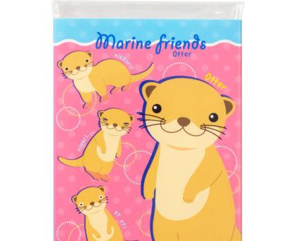 マリンフレンズ パタパタメモ:Otter