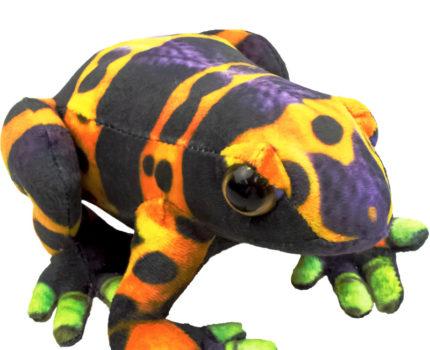 プリントぬいぐるみ カエル:キオビヤドクガエル