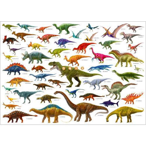恐竜大全 A1ポスター