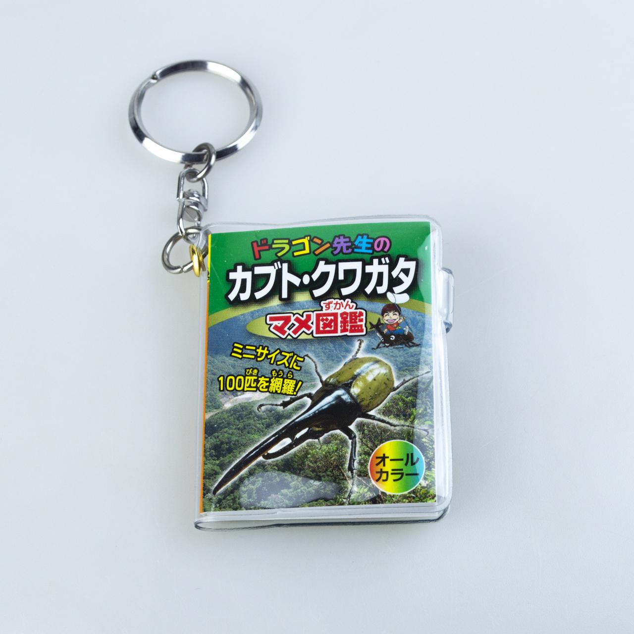 ドラゴン先生のカブト・クワガタ マメ図鑑