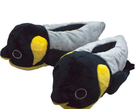 なりきりふかふかルームシューズ:ペンギン