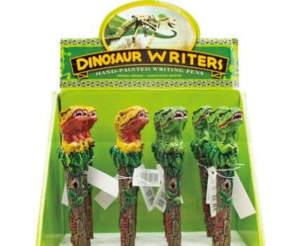 ひょっこり恐竜ペン(全2色)