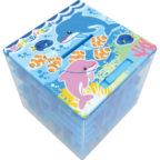 海のぐるぐる貯金箱:イルカ