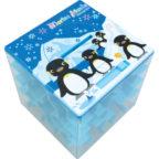 海のぐるぐる貯金箱:ペンギン