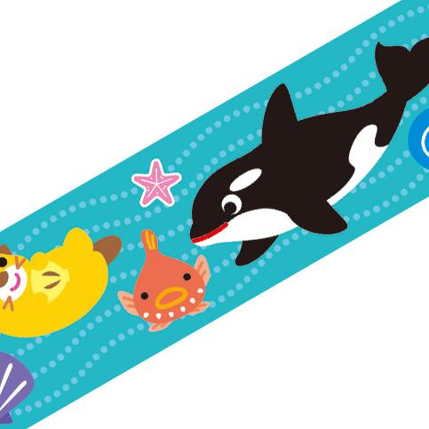 マスキングテープ:M015:冷たい海