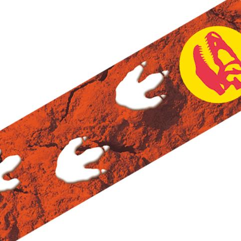 マスキングテープ:A026:恐竜 あしあと