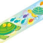 マスキングテープ:M022:ウミガメとサカナ
