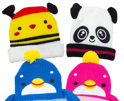 アニマルニット帽子(全4種)