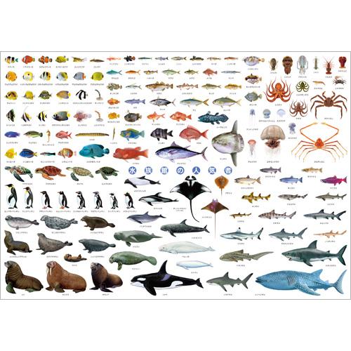 水族館の人気者 A1ポスター