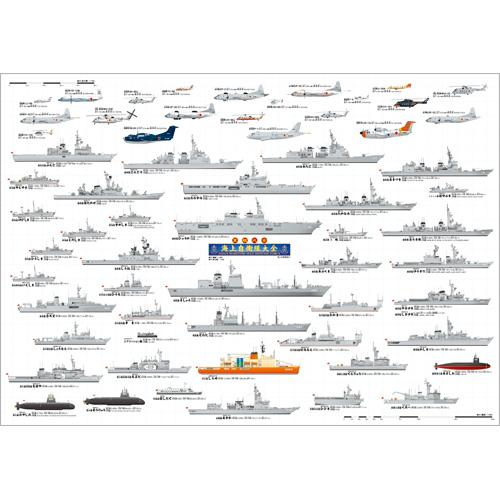 海上自衛隊大全A1ポスター
