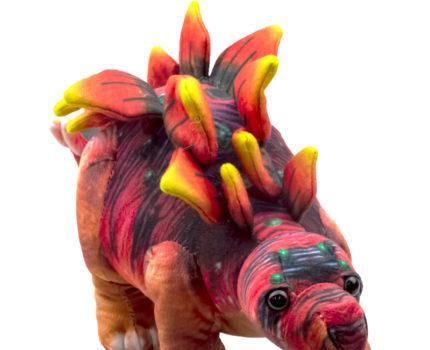 ダイナソーフレンズ リアルプリントぬいぐるみ:ステゴサウルス