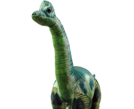 ダイナソーフレンズ リアルプリントぬいぐるみ:ブラキオサウルス
