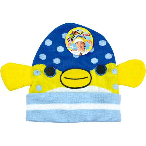 ハコフグニット帽子