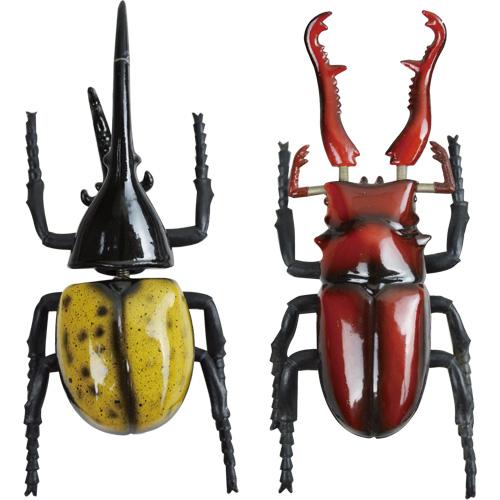 ユラユラ甲虫マグネット