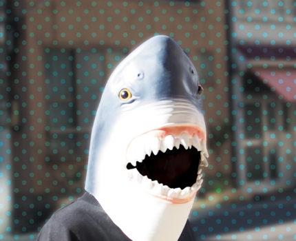 なりきりマスク サメ